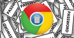 How to delete saved passwords in Google Chrome