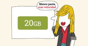 20 GB and unlimited calls for 14.95 euros per month
