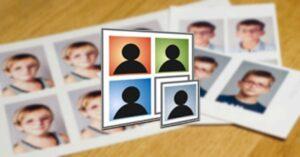 ID Photos Pro, a program to edit and print passport-size…