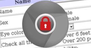 Google Chrome blocks form autofill on insecure websites