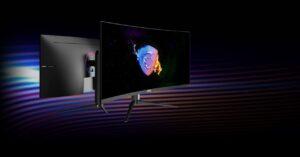 "MSI MAG342CQRV, 34 ""VA curved gaming monitor with 100 Hz"