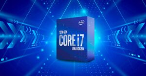 Intel i7-10700K, better CPU for gaming than the Ryzen 9…