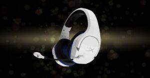 HyperX Cloud Stinger Core White, 7.1 headphones for PS5
