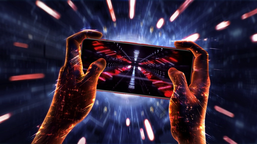Playing with the RedMagic 5G smartphone