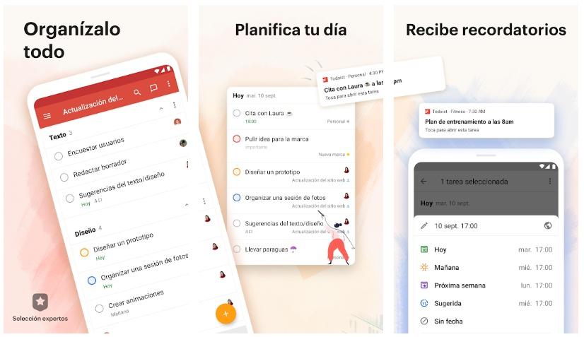 todoist tasks apps to organize