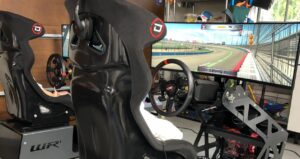 How to create a racing simulator: steering wheel, armchairs and…