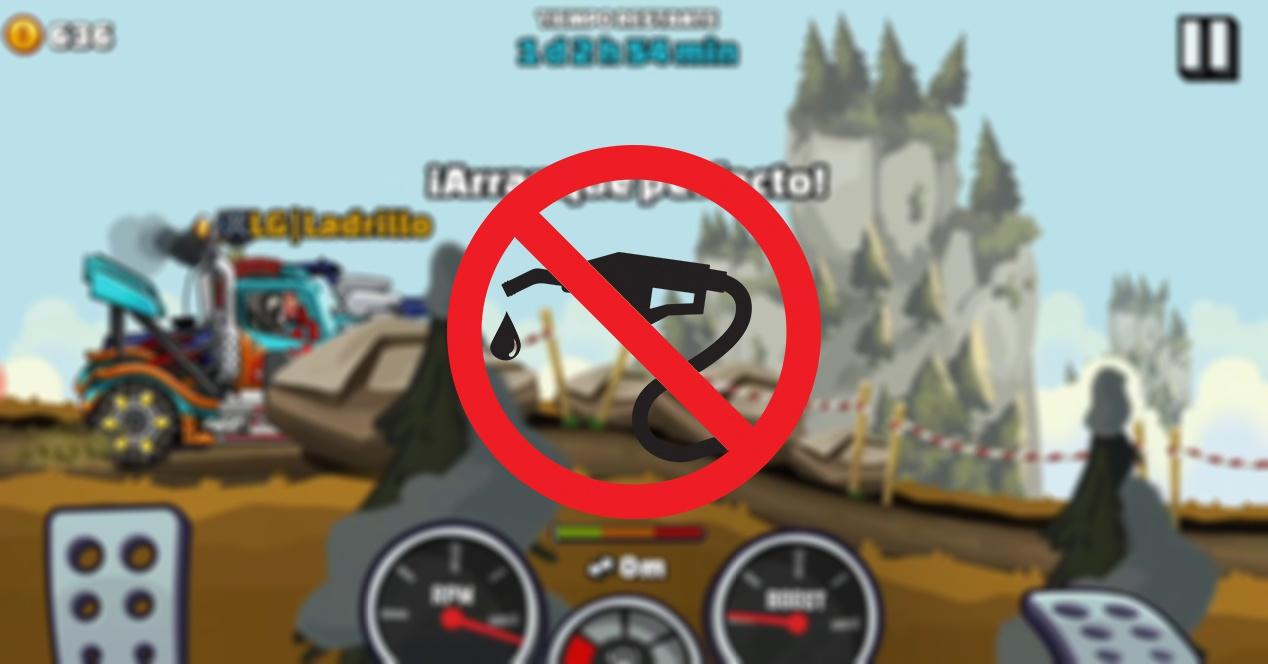 How to do jumps in Hill Climb Racing without gasoline