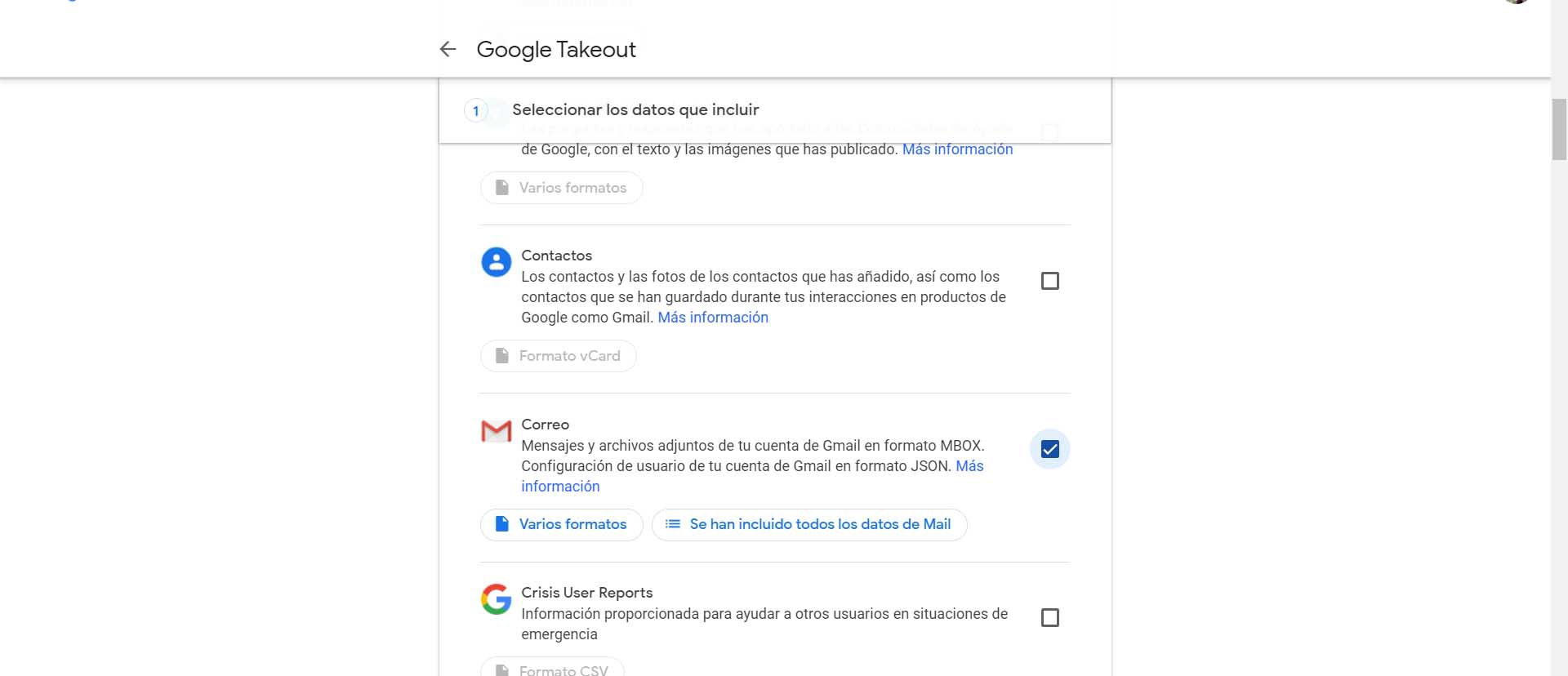 Download emails from Gmail