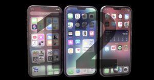Design of the iPhone 12 according to a concept video