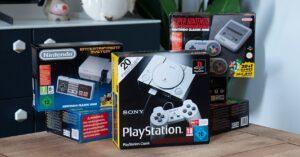 All Nintendo mini consoles, SEGA, NEOGEO and more
