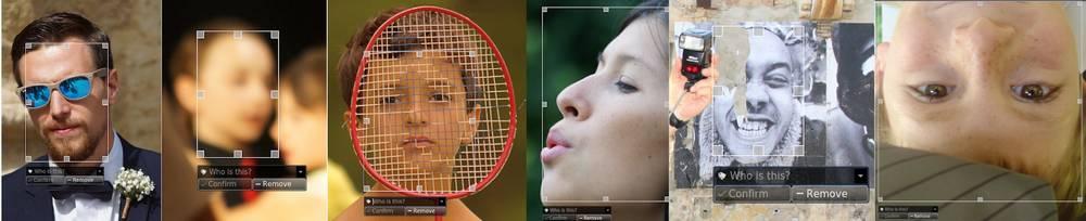DigiKam 7.0 facial recognition