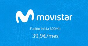 Unlimited TV, fiber and mobile for 39.90 euros