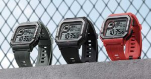 new smartwatch in the style of the classic Casio