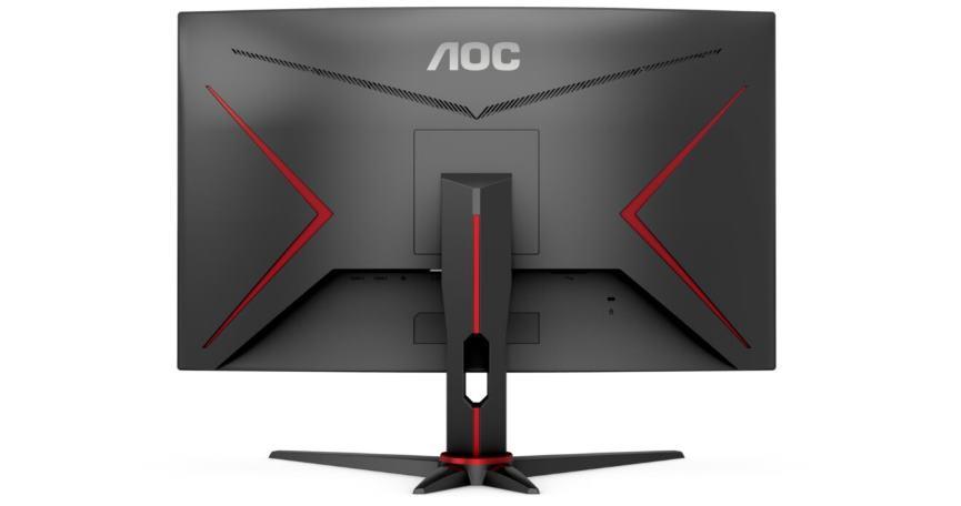AOC G2 monitors behind