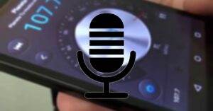 How to record the sound of the FM radio app…