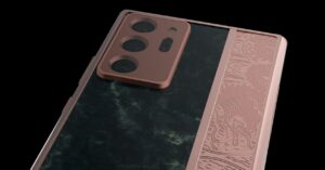 The most expensive edition of the Galaxy Note20: rose gold…