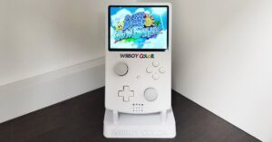 the Nintendo Wii transformed into a portable console