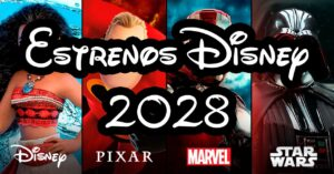 List of Disney premieres until 2028: new films