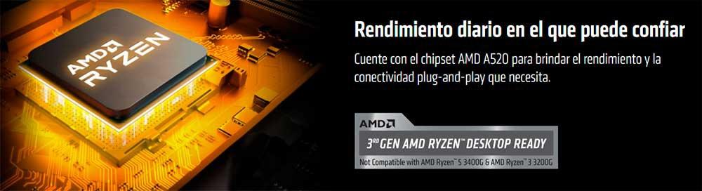 AMD-A520-chipset