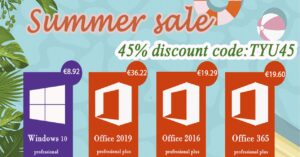 Buy cheap Windows 10, McAfee, Kaspersky and ESET licenses