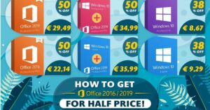 Buy cheap Windows and Office licenses for PC or Mac