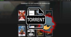 Do not register on this torrent website: filter your data…