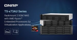 Features of this NAS for 2.5GbE racks