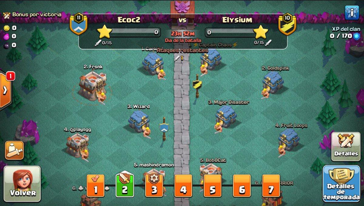 earn clan league medals