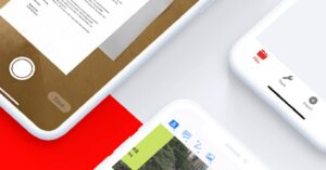 app to merge or protect PDF on iPhone