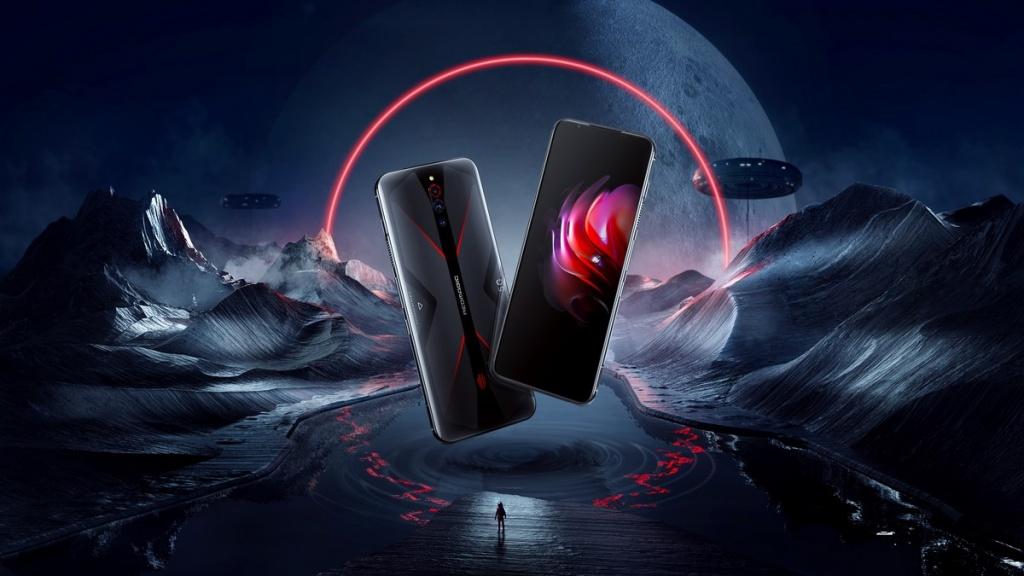 RedMagic 5G smartphone with dark background