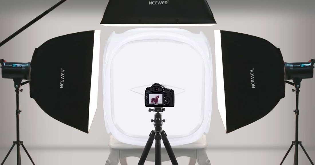 Neewer photo light boxes