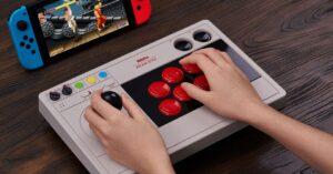 8BitDo Arcade Stick, the perfect controller for emulators