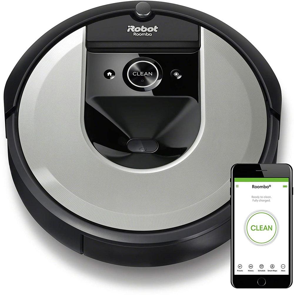 iRobot i7 Roomba Robot Vacuum Cleaner at Amazon