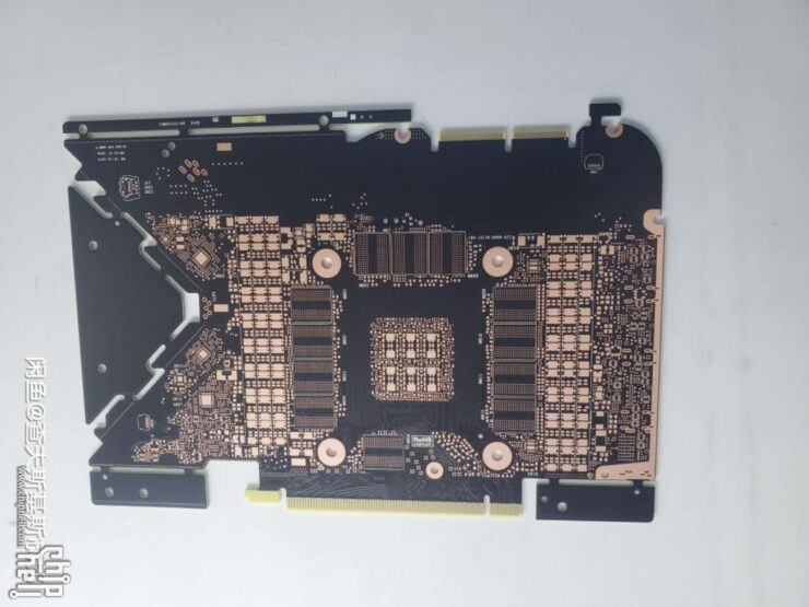 PCB RTX 3090 behind