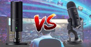 Razer Seiren vs Blue Yeti microphones technical comparison