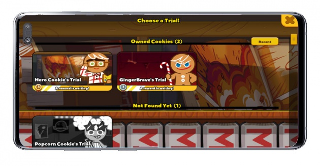 Challenges of the game Cookie Run: OvenBreak