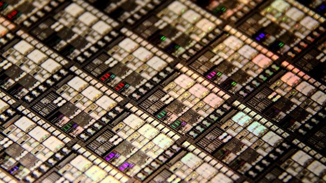 Wafer size processors