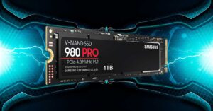 Samsung 980 Pro SSD NVMe M.2, up to 7000MB /…