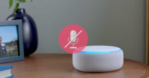 How to disable the microphone of the smart speaker. Alexa,…