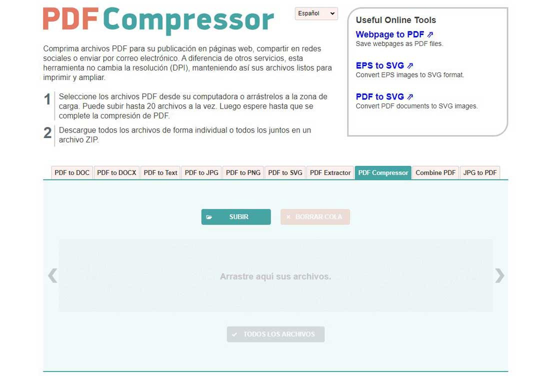 Compress PDF with PDFCompressor