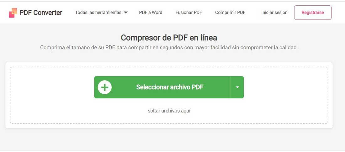 Compress PDF with PDFConverter