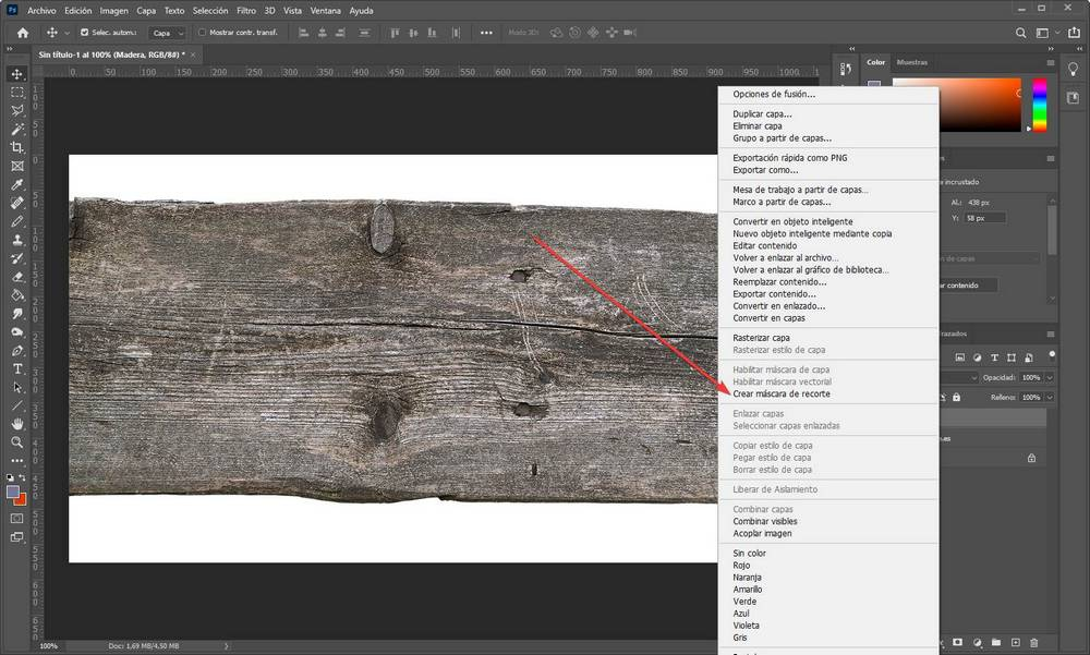 Photoshop - Texturing Text - 5