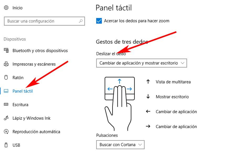 precision touch panel