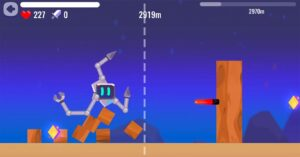 The action game developed by Zeptolab