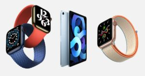Watch Series 6, iPad Air 4, A14 Bionic and more