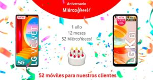draw for 52 free mobiles