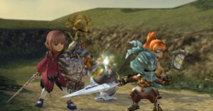 Get the ring artifacts in Fantasy Crystal Chronicles