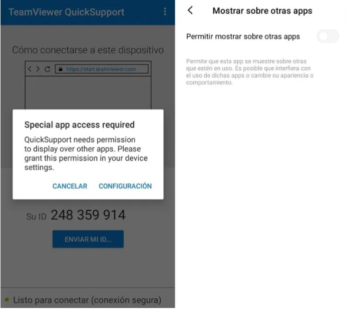 control mobile teamviewer