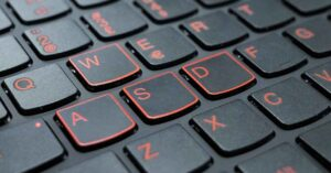 Why games use the WASD keys on the keyboard and…