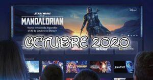 Disney + premieres October 2020: films, series and documentaries